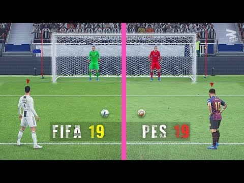 FIFA 19 Vs PES 19: Penalty Kicks - Ghana Latest Football
