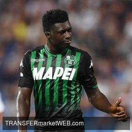 SASSUOLO about to sign Alfred DUNCAN on new long-term