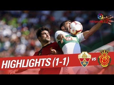 Resumen de Elche CF vs RCD Mallorca (1-1)