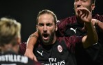 AC Milan rely on lone Higuain goal to down Dudelange