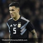 NAPOLI back tracking Leandro PAREDES