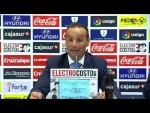Rueda de prensa de José Luis Oltra tras el Córdoba CF vs CD Tenerife (1-1)