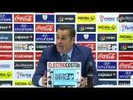 Rueda de prensa de José Ramón Sandoval (1-1) tras el Córdoba CF vs CD Tenerife