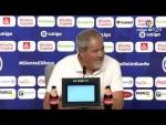 Rueda de prensa de Antonio Iriondo tras el CF Rayo vs Extremadura UD (1-4)
