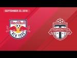 HIGHLIGHTS: New York Red Bulls vs. Toronto FC   September 22, 2018