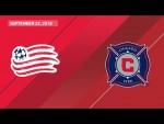 HIGHLIGHTS: New England Revolution vs. Chicago Fire | September 22, 2018