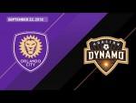 HIGHLIGHTS: Orlando City SC vs. Houston Dynamo | September 22, 2018