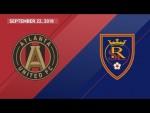 HIGHLIGHTS: Atlanta United FC vs. Real Salt Lake | September 22, 2018