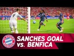 Renato Sanches Goal & Applause on his Return to Benfica!