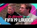 Kevin De Bruyne plays FIFA 19 with F2, Calfreezy and ChrisMD!