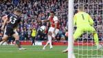 Quickfire double sees Arsenal past Everton at Emirates Stadium