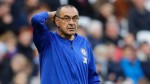 Chelsea won't be at Manchester City, Liverpool level for a year - Maurizio Sarri