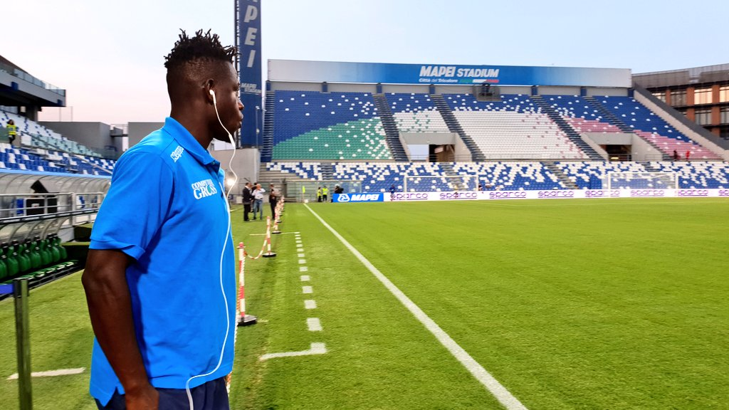 Midfield gem Afriyie Acquah suffers injury in Empoli's defeat at Sassuolo