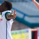 Hibernian winger Thomas Agyepong credits manager Neil Lennon after scoring debut goal