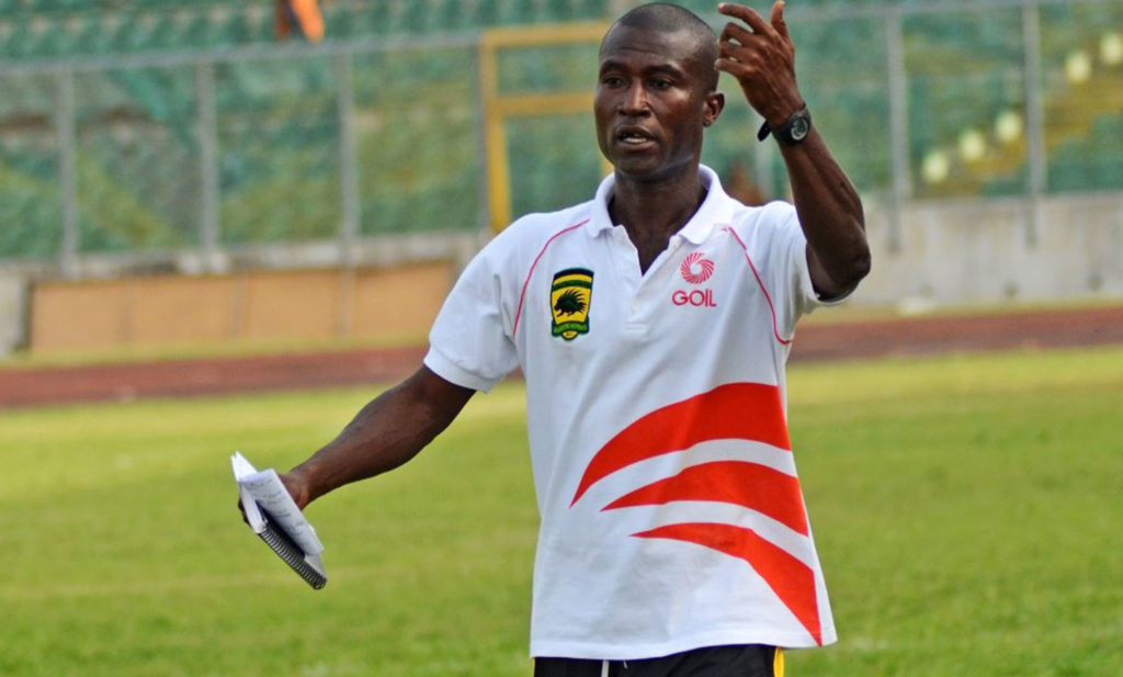 Asante Kotoko stop-gap coach Akakpo Patron sanguine AshantiGold will fall today in friendly