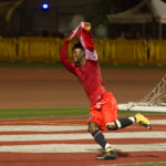 Ghanaian striker Ameyawu Muntari scores and provides two assists as Santa Barbara City College beat Chaffey College