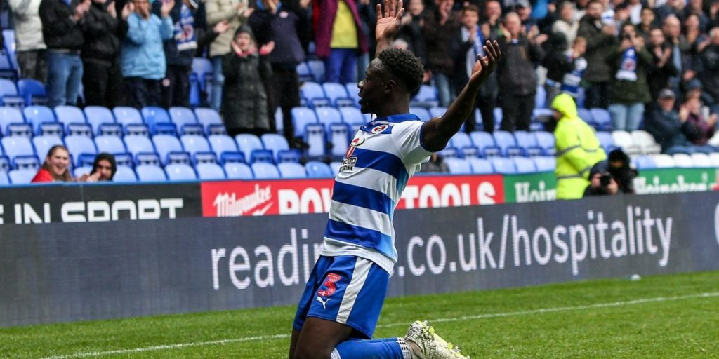 Ghana defender Andy Yiadom named among top three Reading FC players this season