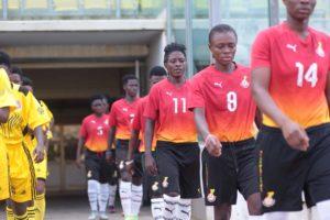 Black Queens thrash Kumasi Sports Academy Ladies in friendly