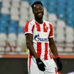 Video: Richmond Boakye scores first UEFA Champions League goal as Red Star Belgrade down Olympiacos