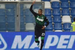 Ghana forward Kevin Prince Boateng excited with goal scoring form for Sassuolo