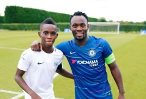VIDEO: Ghanaian duo Alex Agyarkwa and Shadrack Adombila spend time with Chelsea stars in London