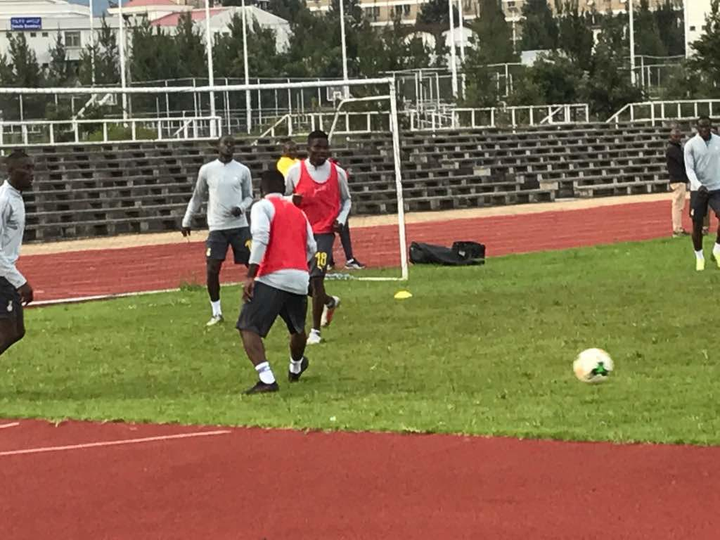 PHOTOS: Black Stars commence training ahead of 2019 AFCON clash against Kenya