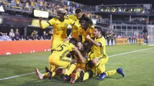 Jonathan Mensah credits the defensive fluidity at Columbus Crew to complete team effort