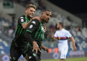 Sassuolo forward Kevin Prince Boateng returns to group training ahead of Empoli clash