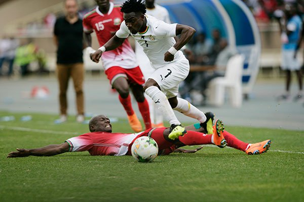 PHOTOS: See match pictures of Kenya's historic 1-0 win over Ghana in AFCON qualifier