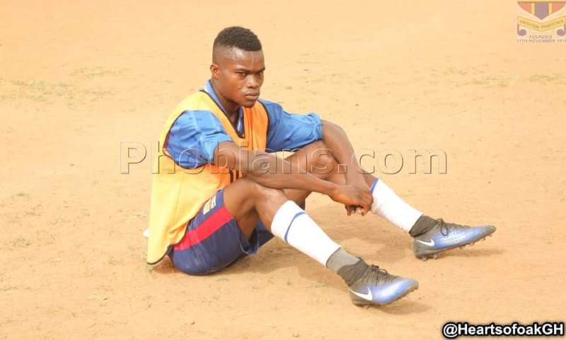 Fit-again Hearts striker Kwadwo Obeng returns to full scale training