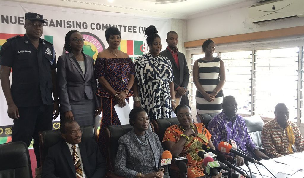 Local Organizing Committee for AWCON 2018 in Accra inaugurated