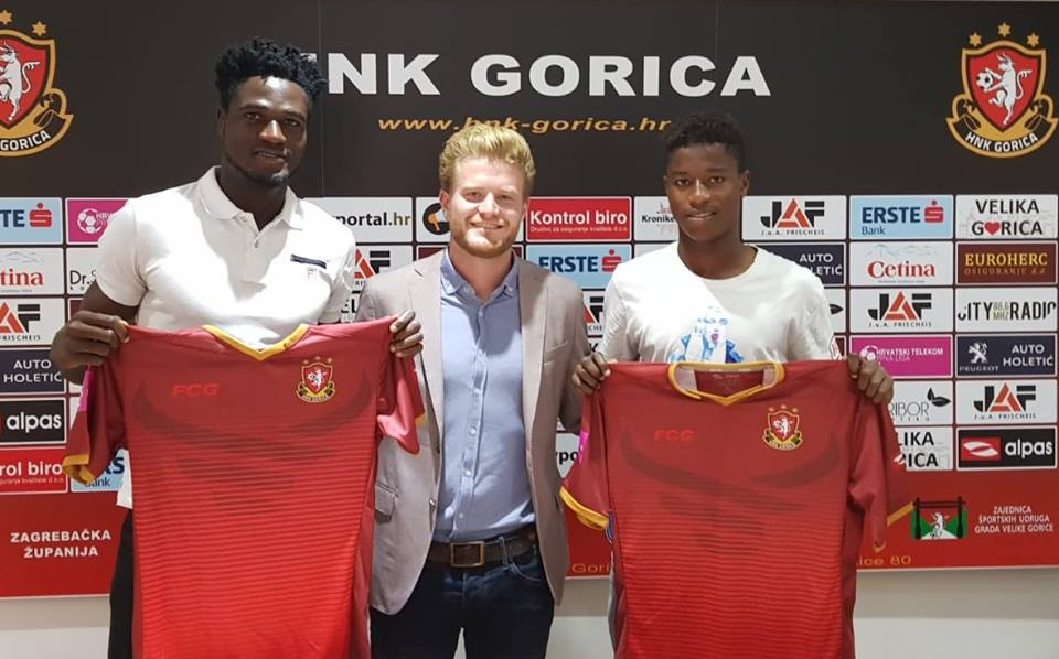 Accra Lions FC loan duo Nasiru Moro and Ahmed Ramzy Yussif to Croatian side HNK Gorica