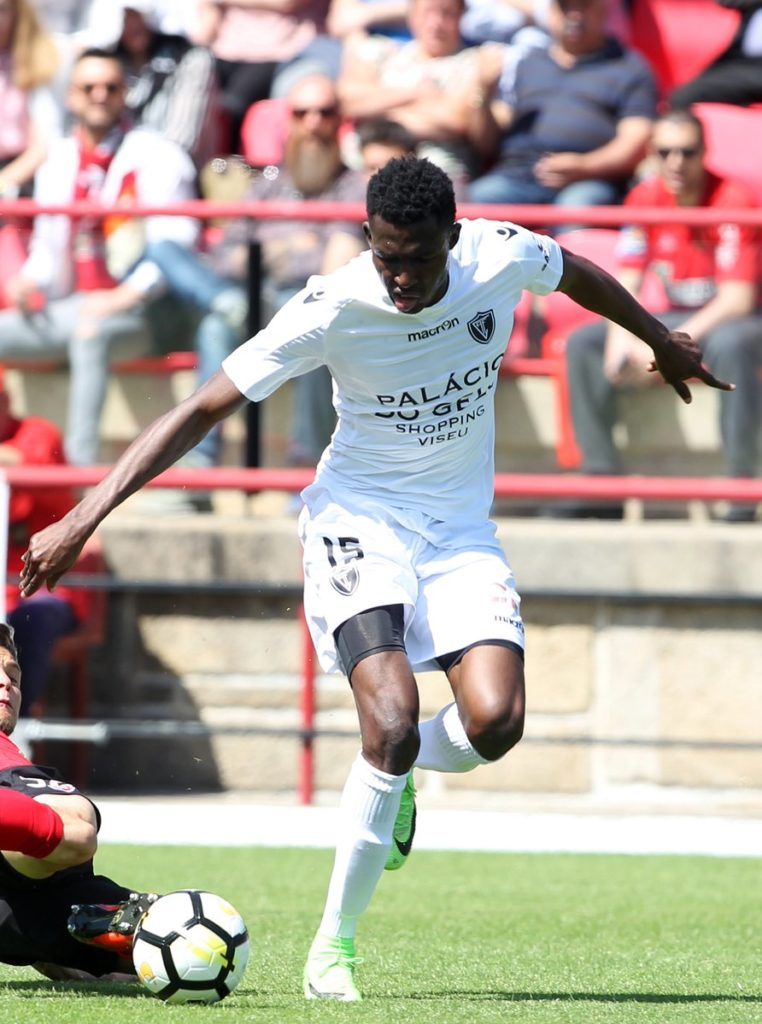 Academico Viseu star Kwame Nsor hits 11 goals in Portuguese second-tier
