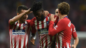 Ghana midfielder Thomas Partey not worried by change in positions at Atlético Madrid