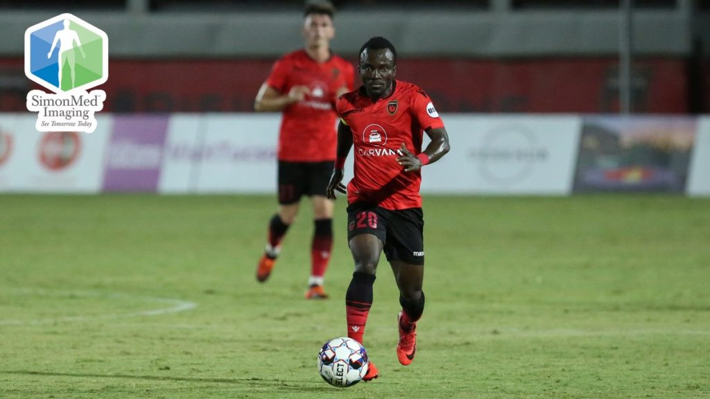 VIDEO: Solomon Asante misses penalty as Rising Phoenix are pegged at home by Switchbacks