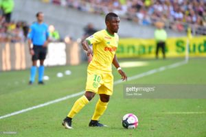 Ghana striker Majeed Waris plays full throttle as Nantes suffer defeat Lille OSC