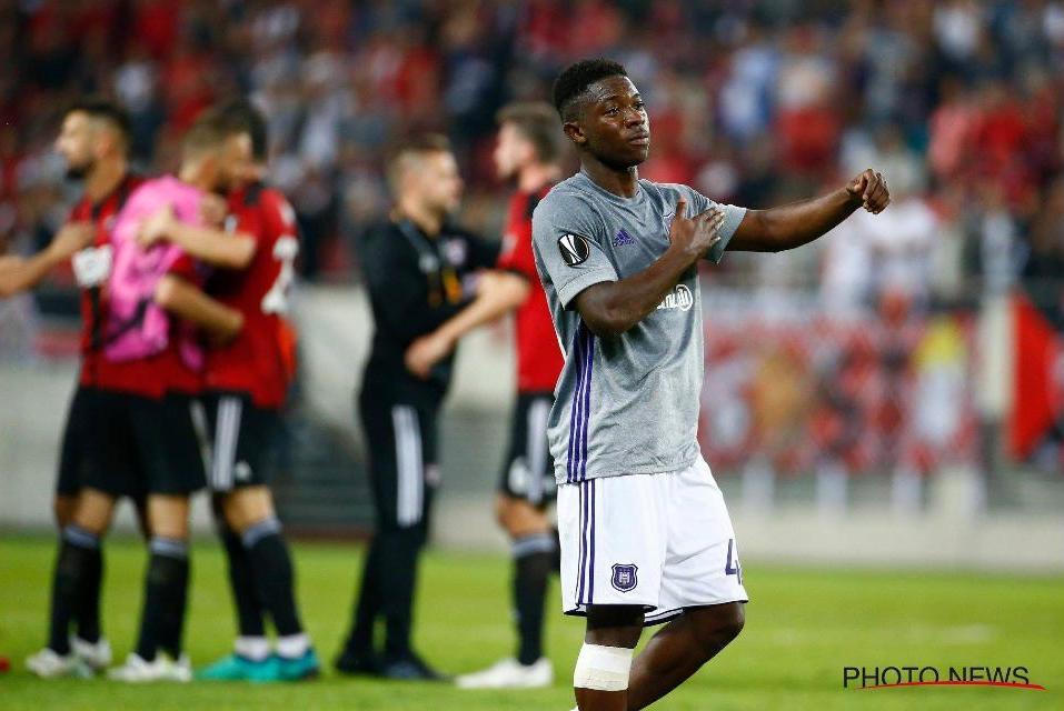 Prospect Francis Amuzu sparkles on Europa League debut as Anderlecht lose away