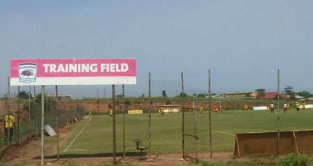 PHOTOS: Asante Kotoko's Adako Jachie training pitch facelift underway