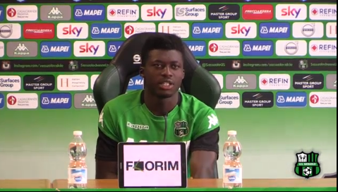 US Sassuolo midfielder Alfred Duncan fires warning to AC Fiorentina
