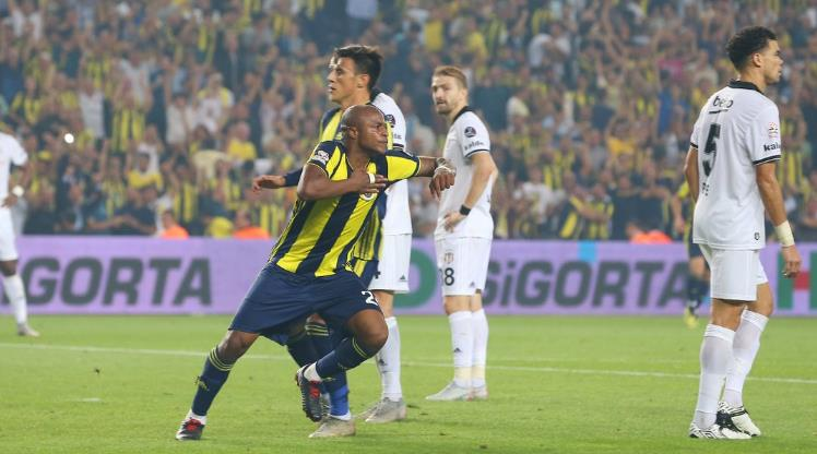 Video: Ghana superstar Andre Ayew\'s powerful header rescues Fenerbahce in Istanbul derby