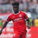Ghanaian youngster Braydon Manu suffers serious injury in Hallescher FC victory at Aalen