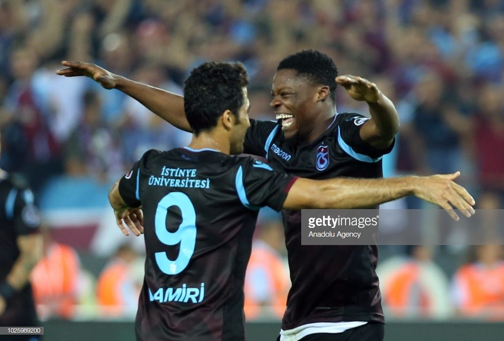Caleb Ekuban climbs off bench to hit target for Trabzonspor in win over Kayserispor