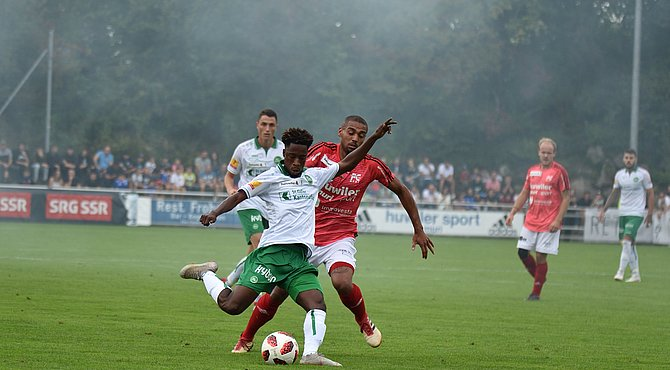 Majeed Ashimeru nets first goal for St Gallen in heavy win over FC Muri in Swiss Cup