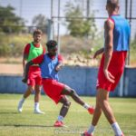 PHOTOS: Emmanuel Boateng starts training with Israeli side Hapoel Tel Aviv