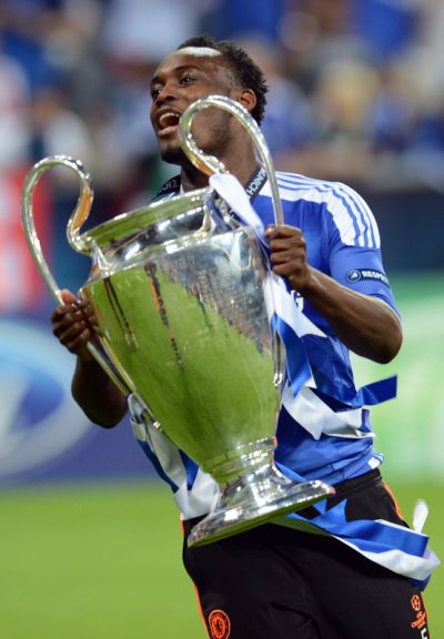 Essien won the UEFA Champions League with Chelsea