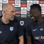 KRC Genk defender Joseph Aidoo recounts how he stopped Malmo FF ahead of Europa League clash
