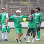 PHOTOS: Ghanaian midfielder Benard Morrison commences training with Congolese side Motema Pembe