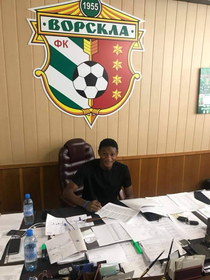 EXCLUSIVE: Ukrainian top flight side FC Vorskla Poltava sign free-agent Najeeb Yakubu