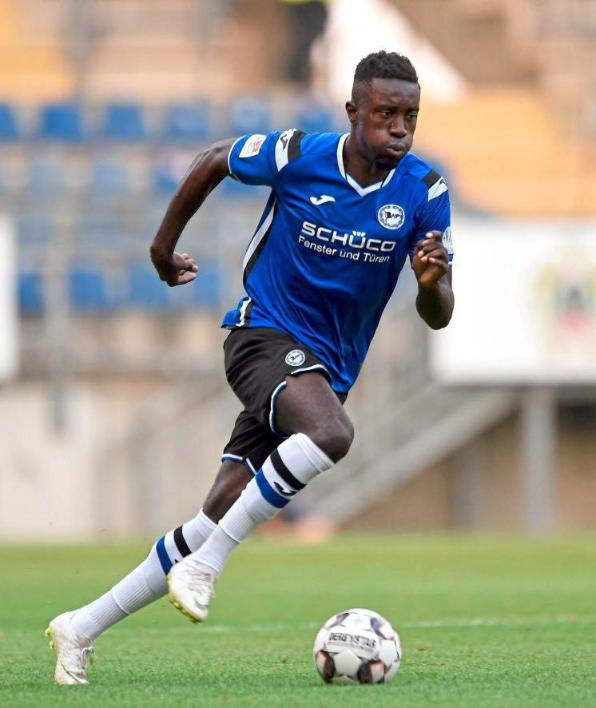 Arminia Bielefeld coach Jeff Saibene satisfied with rapid development of Ghanaian youngster Prince Owusu