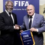 Kofi Annan was passionate about football, played as a No. 7